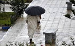 المديرية العامة للأرصاد الجوية تساقطات مطرية بعدد من مناطق المملكة