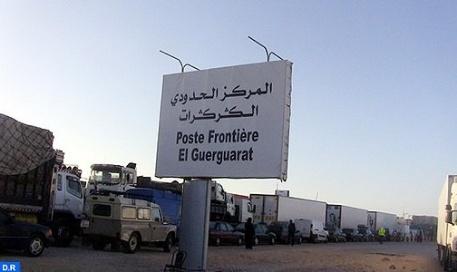 المغرب يقرر التحرك من أجل وضع حد لحالة العرقلة بالكركرات