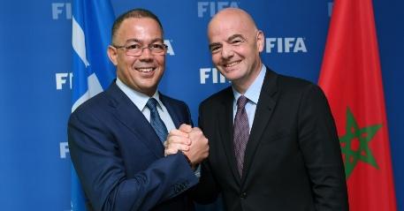 فوزي لقجع يترشح لعضوية مجلس الإتحاد الدولي لكرة القدم