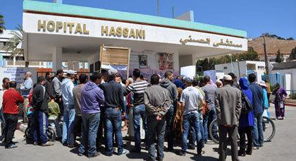 في واقعة غريبة شخص يعود إلى الحياة بعد اعلان المستشفى الحسني بالناظور عن وفاته وإقامة جنازته