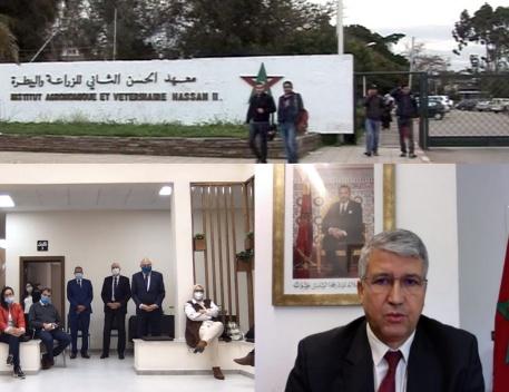 """إطلاق """"ماجستير إدارة الأعمال"""" المشترك بين معهد الحسن الثاني للزراعة والبيطرة ومدرسة التدبير """" ESCA """""""
