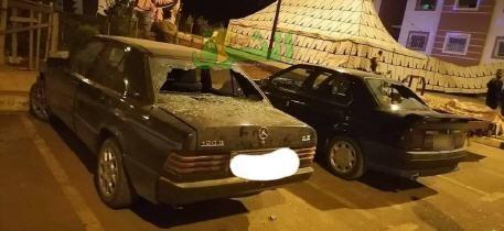بالصور ..توقيف عصابة تهشيم زجاج السيارات ببرج واولوت بجماعة زكزل إقليم بركان