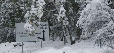 مقاييس حجم التساقطات الثلجية بالمغرب خلال الساعات الماضية