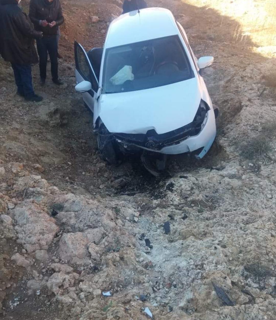 حادثة سير خطيرة تخلف إصابة ثلاثة أساتذة بين مركز تانشرفي و العيون سيدي ملوك