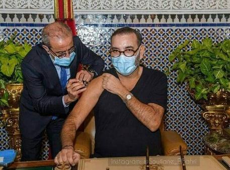 الملك محمد السادس يعطي الانطلاقة لحملة التلقيح ضد «فيروس كورونا»