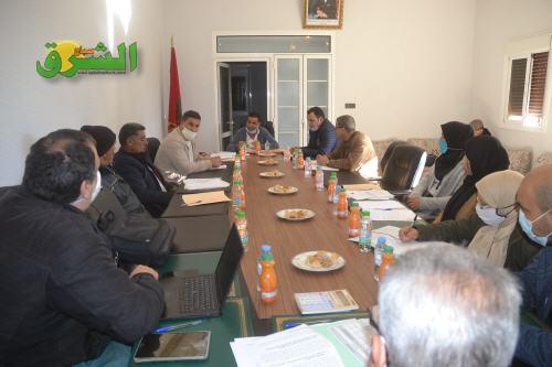 مجلس جماعة رسلان يصادق بالإجماع على مقررات دورة فبراير 2021