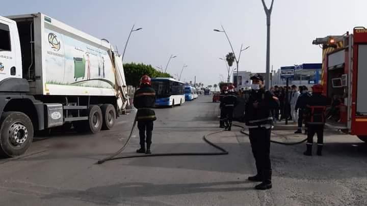 الناظور شاحنة لنقل الأزبال تدهس طالبة وتقتلها