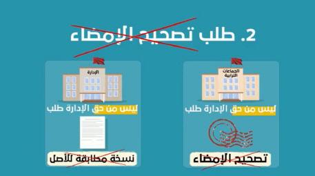 فيديو:  هام للمغاربة إلغاء تصحيح الإمضاء أو مطابقة النسخ للأصل..