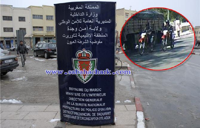 العيون الشرقية : حملة أمنية واسعة ضد الدراجات النارية المخالفة للقانون