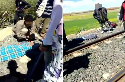 صادم : قطار يحوّل جسد طفلين إلى أشلاء في حادث مروع نواحي وجدة