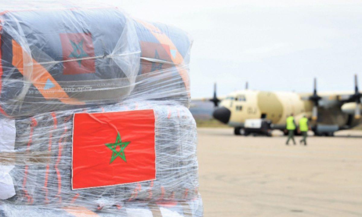 بتعليمات من الملك محمد السادس إرسال 8 طائرات محملة بمواد غذائية للشعب اللبناني