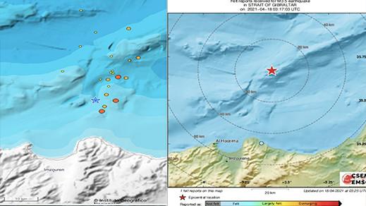 عودة النشاط الزلزالي بسواحل الريف.. أزيد من 40 هزة أرضية أقواها تجاوزت 4 درجات
