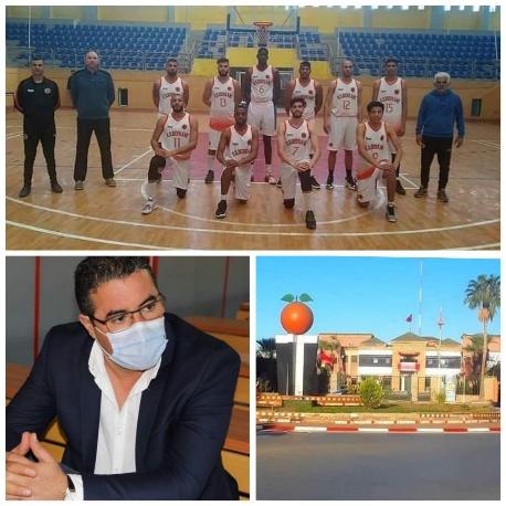 طموح فريق نهضة لكرة السلة بركان يصطدم بتجاهل ولامبالاة عمالة إقليم بركان…!!!