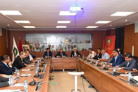 هذه خلاصات إجتماع المكتب المديري للجامعة الملكية المغربية لكرة القدم