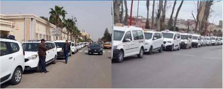 سائقو سيارات الأجرة الكبيرة بالجهة الشرقية يلتمسون زيادة عدد الركاب