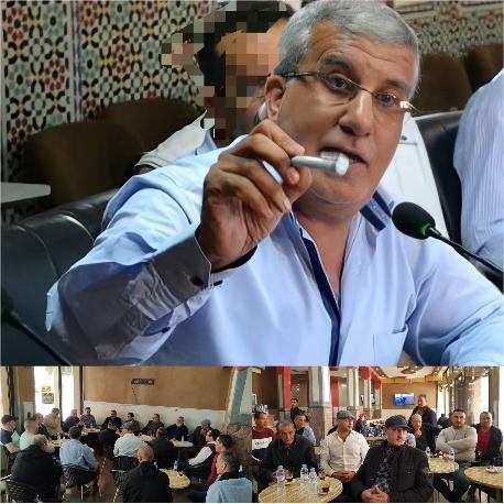 تجديد الثقة في عبد الرحيم شرقي رئيسا لجمعية أرباب المقاهي ببركان