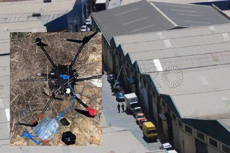"""الشرطة الإسبانية تحبط عملية تهريب  المخدرات بواسطة طائرة """"درون"""" بمحيط ' تاراخال' بسبتة"""