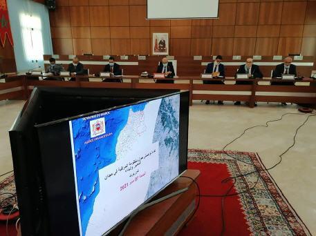 عامل إقليم تاوريرت العربي التويجر  يعقد اجتماعا يخص التعمير و البناء