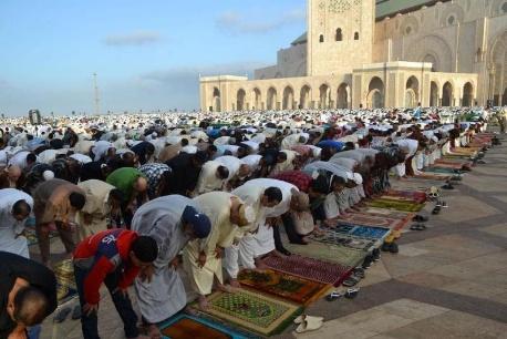 بلاغ وزارة الأوقاف والشؤون الإسلامية حول عدم إقامة صلاة عيد الفطر بالمغرب