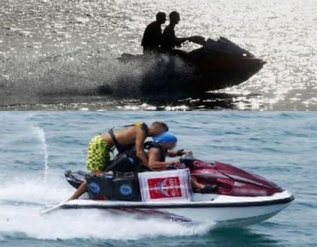 الدرك البحري لمارينا يجهض محاولة للهجرة غير الشرعية على متن دراجتي جيت سكي بالسعيدية