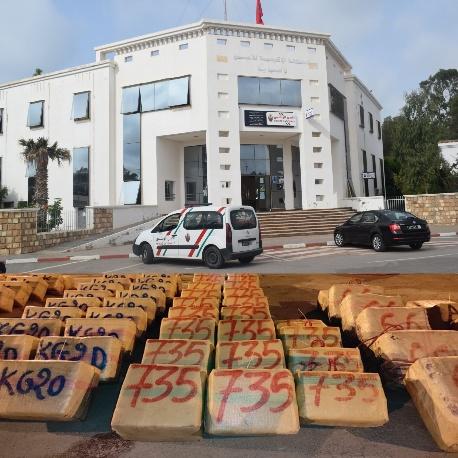 فتح بحث قضائي في محاولة تهريب 4 أطنان و300 كيلوغرام من مخدر الشيرا بالسعيدية