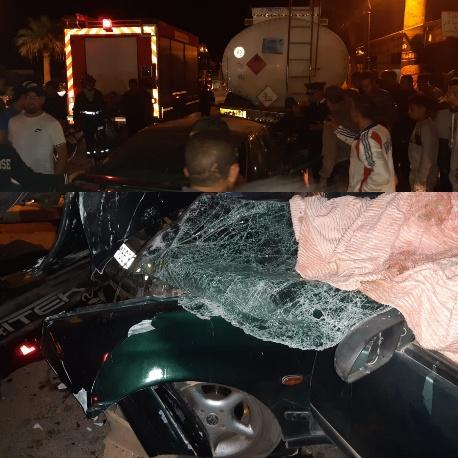 قتيل وجريح في حادث سير مروعة بمدخل مدينة بركان