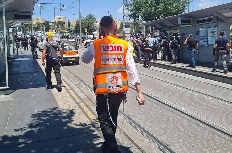 اصابة إسرائيليين اثنين في عملية طعن بمدينة  القدس
