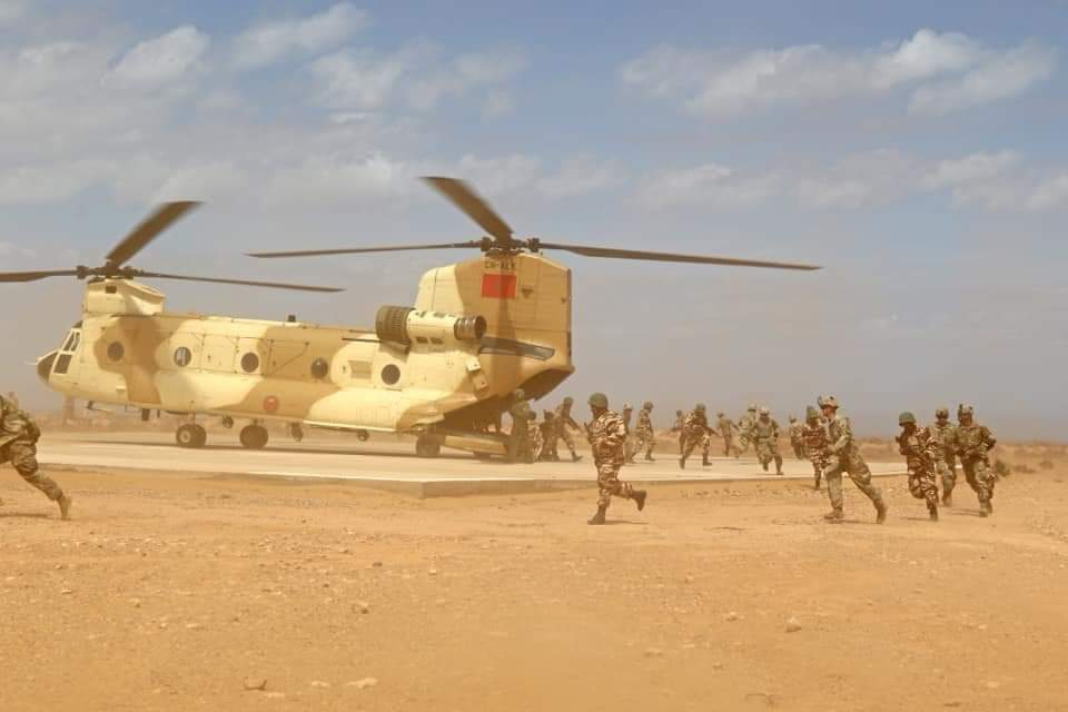 """بيان رسمي من القوات المسلحة الملكية المغربية 🇲🇦 يؤكد فيه إجراء تدريبات عسكرية مشتركة """"الاسد الإفريقي 2021"""" .."""