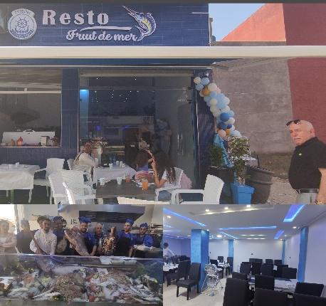 الجديد ببركان …افتتاح مطعم «فواكه البحر «»FRUIT DE MER»» بمواصفات فاخرة متخصص في جميع أنواع السمك