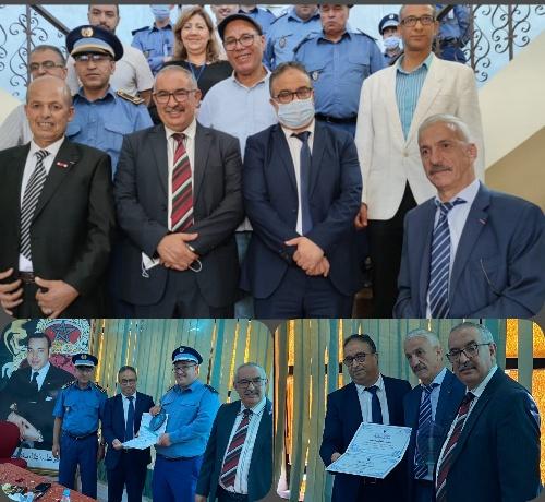 المديرية الإقليمية للجمارك بوجدة تحتفي بمجموعة من المتقاعدين