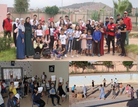 جمعية أبركان للفن والتنشيط تنظم أياما تكوينية وتنشيطية لفائدة الأطفال
