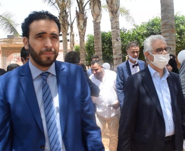 نزار بركة يحل ببركان لتقديم حكيم بنعبد الله مرشحا لحزب الاستقلال في الانتخابات التشريعية المقبلة