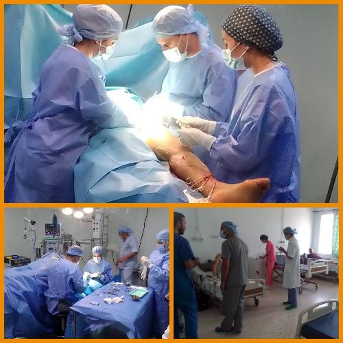 قافلة طبية بمستشفى الدراق ببركان للإشراف على عمليات جراحية في لفائدة المرضى