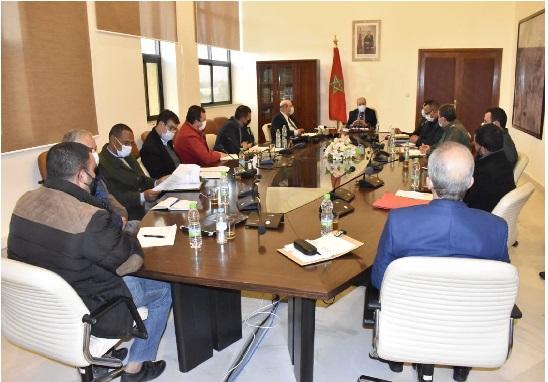 بيان : من وزارة الفلاحة والصيد البحري والتنمية القروية والمياه والغابات