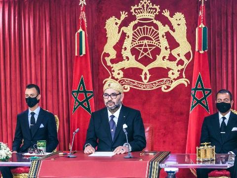 الملك محمد السادس يوجه خطابا ساميا إلى شعبه الوفي بمناسبة الذكرى الـ68 لثورة الملك والشعب