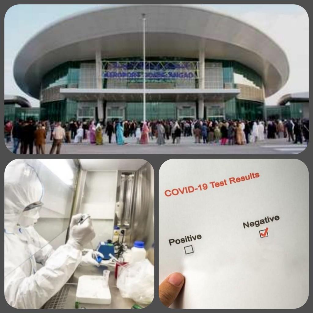 إيقاف طالب بمطار وجدة انكاد بتهمة تزوير نتيجة اختبار كوفيد 19 PCR
