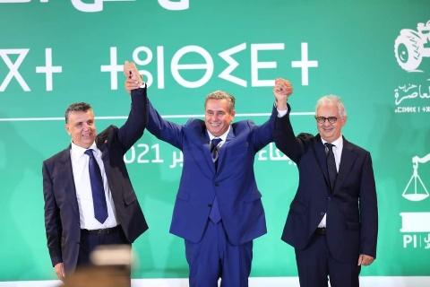 الأغلبية الحكومية ستتكون من أحزاب للأحرار والاصالة والاستقلال
