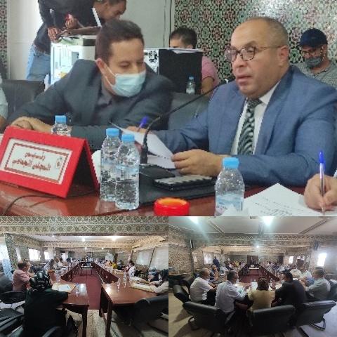 رسميا…محمد إبراهيمي رئيسا للمجلس الجماعي لبركان للمرة الثانية على التوالي
