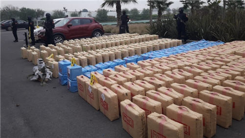 تنسيق أمني مغربي فرنسي إسباني يقود إلى حجز 26 طن من المخدرات
