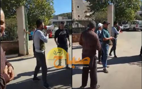 فيديو: مطلب التشغيل يخرج شباب ومعطلين إلى الاحتجاج بمنطقة تافوغالت