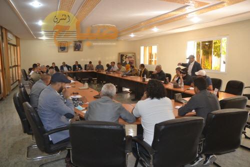 العيون سيدي ملوك : المجلس الجماعي يصادق على النظام الداخلي بالإجماع 