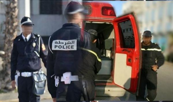 اعتداء  على شرطي بالسلاح وسرقة دراجته النارية وسلاحه الوظيفي بأكادير